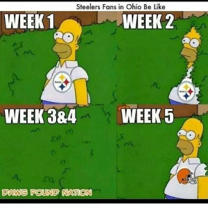 fans real steeler fans don t change over the past few weeks has been ...
