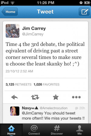 Jim Carrey on the political debate | Funny Pictures, Quotes, Pics ...