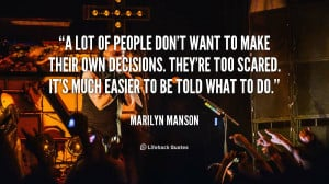 Marilyn Manson Funny Quotes