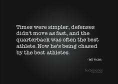 Bill Walsh Football Quotes
