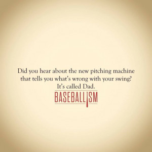 Baseball... Great memories of my Dad teaching me how to play ball!