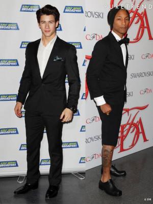Nick Jonas Pharrell Seront...