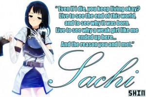 Sachi's Famous Quote Picture