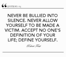 Robert Frost Bullying Quotes