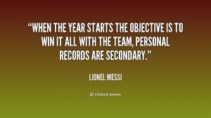 Lionel Messi Inspirational Quotes
