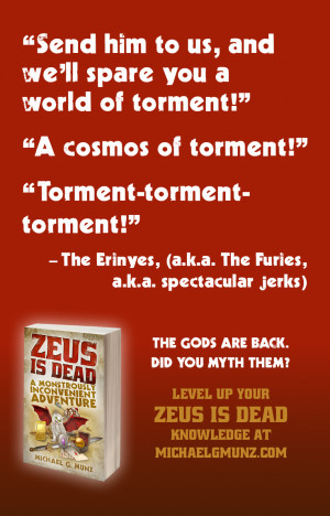 Zeus Is Dead: Character Quotes for the New Release