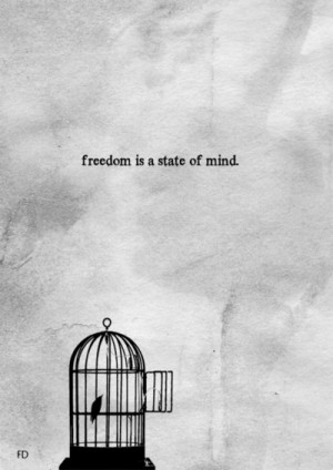 bird, cage, dream, faith, fly, free, freedom, hope, quotes, soo true ...
