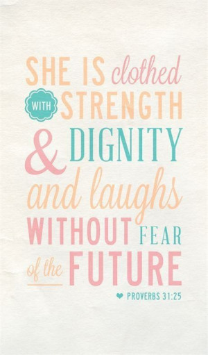 Proverbs 31 woman!