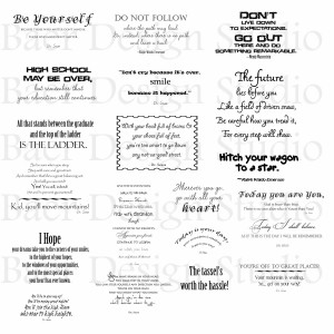Cute High School Graduation Quotes Il Fullxfull Ow