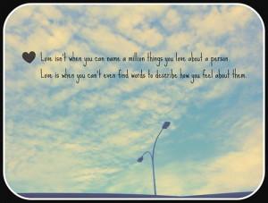 Cloud Nine Love Quotes
