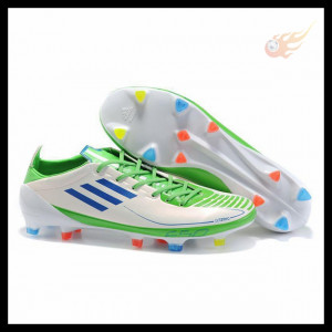 Adidas F50 Adizero II Prime White Blue Slime Quotes About Soccer Shoes