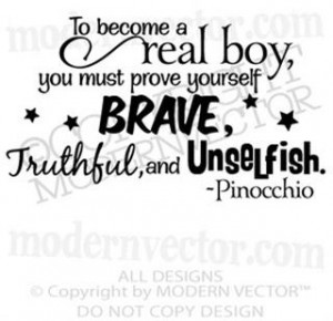 From Disney's Pinocchio