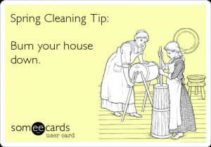 Spring Cleaning Funny Quotes Spring cleaning the
