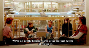 , club, john, judd nelson, quote, teenagers, the, the breakfast club ...