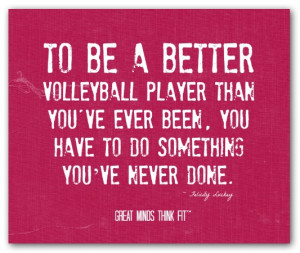 Volleyball Motivational Quote