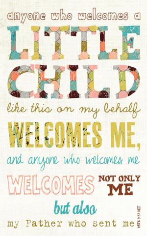 Baby Gift, Baby Shower present, Adoption gift, Scripture Art, Bible ...