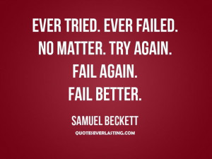 Samuel Beckett | #quote