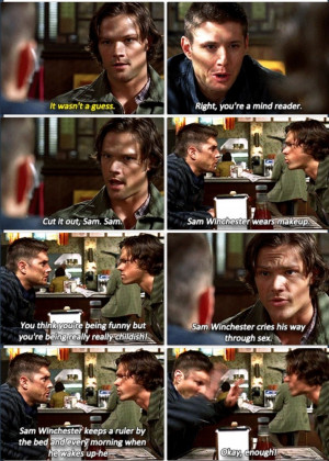 Related Pictures supernatural quotes funny bobby quote