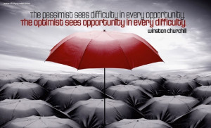 Pessimism Quotes A pessimist sees the