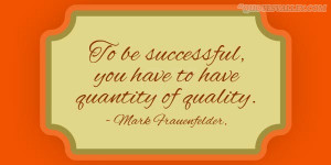 Quality Is The Degree Of Excellence At An Acceptable Price