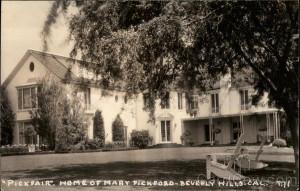 Pickfair. Home of Mary Pickford Beverly Hills California