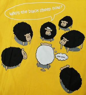 Funny Black Guy Sheep