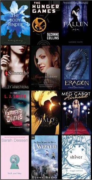 Popular Teen Books of 2012