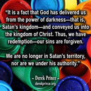Redemption quote by Derek Prince.