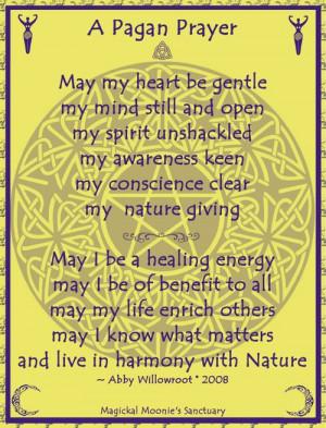 pagan prayer | Tumblr