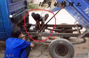 """Child prodigy""""? Wuhan 12-year-old auto repair master becomes driving ..."""