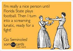 Fsu Quotes, Fsu Seminoles, Fsu Football Funny, Florida State Football ...