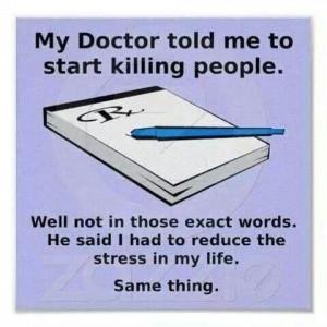 Reduce stress.....