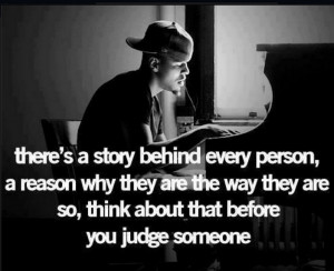... reason why they are the way they are so,think about that before you