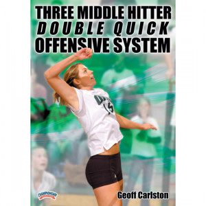 Championship Productions Three Middle Hitter Double Quick System DVD