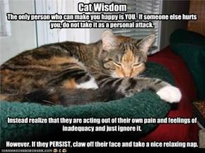 Cat Wisdom…