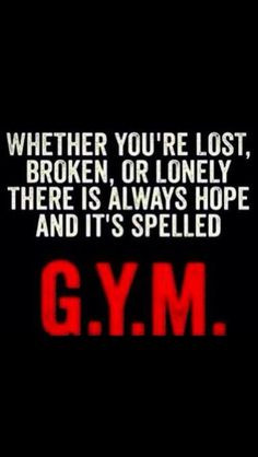 Gym Quotes Motivational #gym #quote #truth