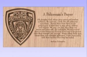 New York Police Prayer