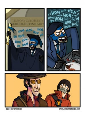 soldier french Sniper tf2 spy team fortress awkward zombie ...