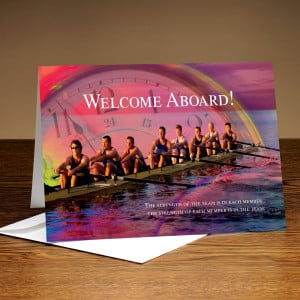 Welcome New Employee Greeting Card