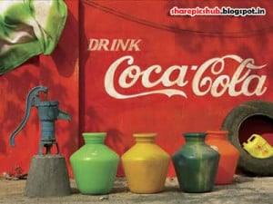 Drink Coca Cola Funny Banner in Indian Street | Funny Indian Images