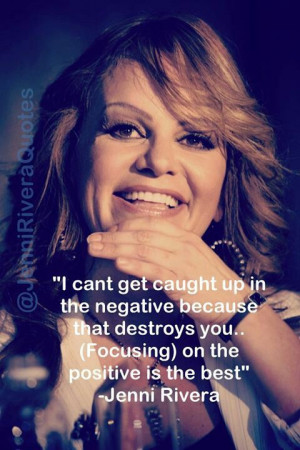 Jenni Rivera Quote