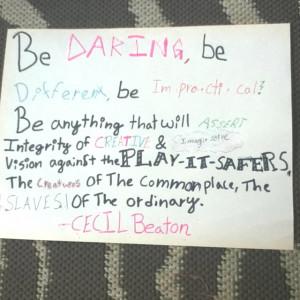 Cecil beaton quote