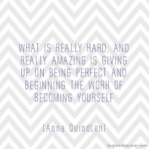 Daily Inspirational Quotes // Becoming Yourself