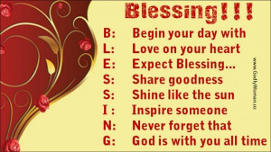 Spiritual Quotes On Blessings | Blessings! | Inspirational quotes