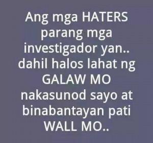 ... of mga patama quotes haters quotes mga patama quotes mahal quotes mga