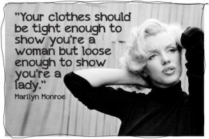 Hahha Marilyn Monroe Quote