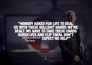 Eminem Quotes | Eminem Sayings Quotes Life Love Inspiring Picture ...