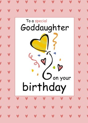 home birthday relationship specific 3289 goddaughter birthday card id ...