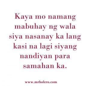 Mga Quotes Patama Tagalog Love