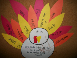 Michelle's Musings: Thanksgiving Crafts for Children